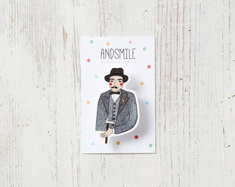 Poirot Badge
