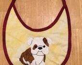 Bulldog Baby Bib