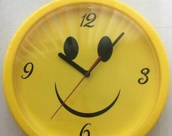 Smiley Face Clock