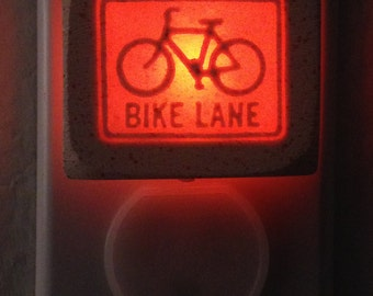 small BIKE LANE 1/3watt night light
