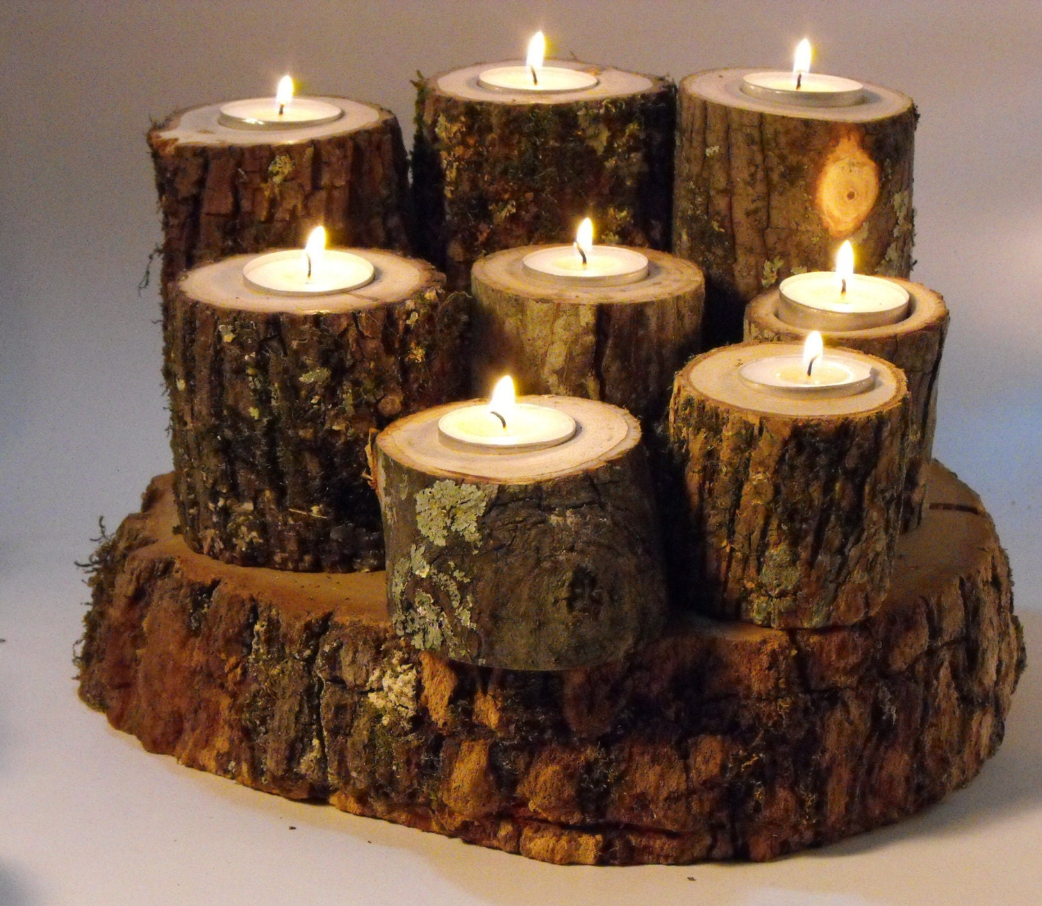 Tree branch candle holders wedding centerpiece decoration