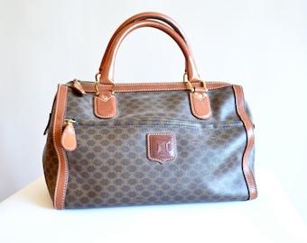Vintage CELINE leather doctor handbag