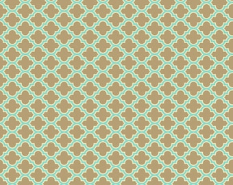 Aviary 2 Lodge Lattice in Carmel by Joel Dewberry Cotton Quilting Fabric