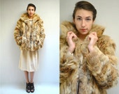 Red Fox Fur Coat  //  Fox Fur Jacket  //  URBAN FOX
