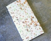 4 Pocket Kraft Folder Midori Travelers Notebook Fauxdori Gold Sequins Pattern