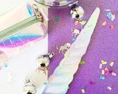 Magical Unicorn Horn Photo Prop - Birthday Photo Booth - Wedding - Selfie - Bachelorette
