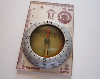 vintage SILVA compass - Boy Scouts of America - Silva System compass
