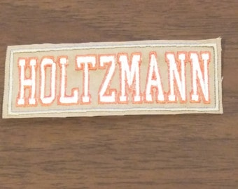 Kids size Ladies GHOSTBUSTERS Inspired name badge patch,  iron on CUSTOM AVAILABLE Too!!!