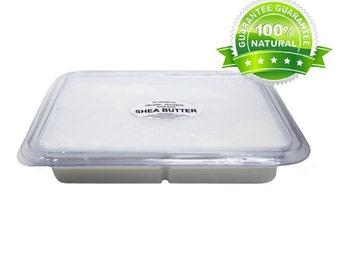 2 Lb Shea Butter Melt & Pour Glycerine Soap Base tray