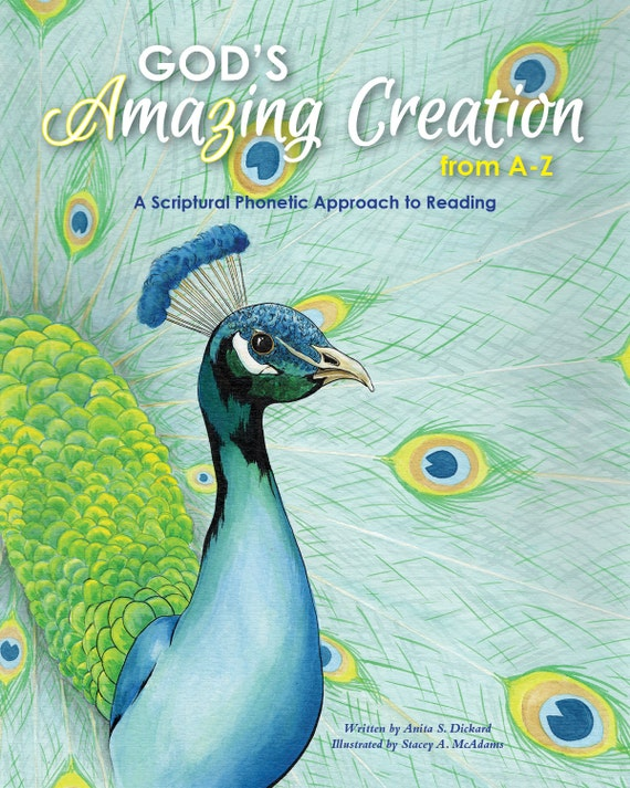 Children's Book: Gods Amazing Creation from AZ A by ...