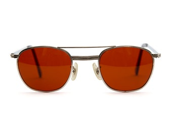 Vintage Deadstock American Optical Aviation Sunglasses - Red