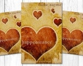 "Premade Digital eBook Book Cover Design ""Happenstance"" Floral Roamnce Love Story Fiction YA Women Adult Whimsical"