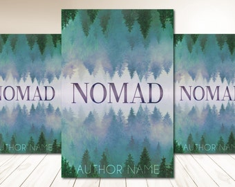 """Premade Digital Book eBook Cover Design """"Nomad"""" Fiction Young New Adult YA Adventure Memoir Literary Fiction"""