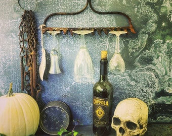 Wine Glass Rack / Rake Head / Wine Glass Rack / Jewelry Display