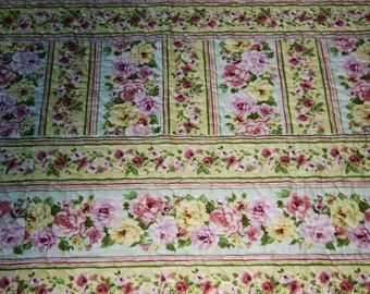 """Timeless Treasures """"Belle"""" Collection  Patchwork Quilt-Handmade Quilt   Made in USA by MJ Quilts"""
