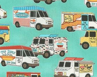 Robert Kaufman- Food Trucks 1 yard Fabric