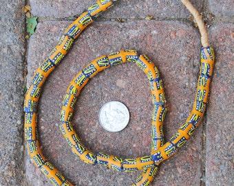 Krobo Beads: 9x23mm