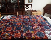 "Ultimate  Cavaliers Embroidered Lap Quilt 56"" X48"""