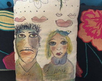 Art Knowledge Life Lessons Art Pillow by Trish Vernazza