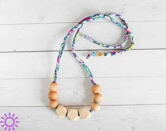 Breastfeeding Baby Necklace - Teething Necklace - Organic Nursing Necklace - Baby Necklace - Breastfeeding Necklace- Shower Gift- New Mom