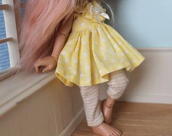 RealFee Ruffle Dress - Yellow