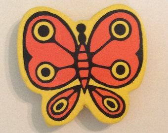 1960's Pop Art Butterfly Magnets Takehashi/ CounterpointSF