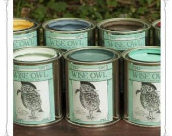 Wise Owl Chalk Synthesis Paint- Pint  Sizes