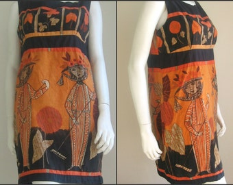 70s vintage Betty Barclay dress