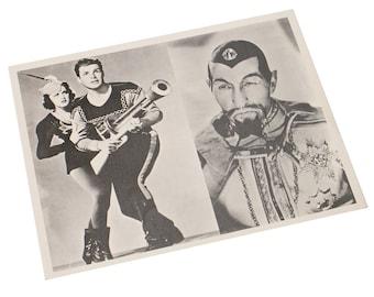 Hollywood Fan Photo Flash Gorden Mars Attacks the World 1938 Studio Copy Publicity Photography