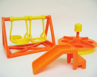 Vintage Fisher Price Playground Pieces