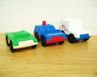 Vintage Fisher Price Village Vehicles