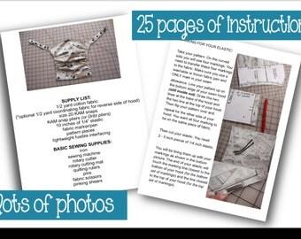 Beco Soleil Hood Pattern - PDF - Immediate Download