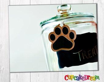 Puppy Birthday, Favor Tag, Dog Birthday Decoration