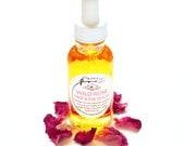 Wild Rose Serum for radiant complexion, facial oil, 100% organic, toning, regenerative, for sensitive skin - 1 oz (30ml)