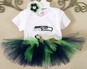 Seahawks Tutu, Seattle Seahawks Tutu Outfit, Seahawks Baby, Seahawks Newborn, Seahawks Girls
