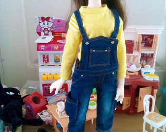 Clearance Dis30% Mini Overalls Deep for MSD MDD Unoa
