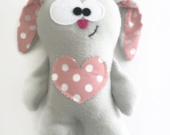 Soft Bunny Toy, Tooth Fairy Pillow, Plush Bunny Toy, Bunny Plush, Soft Bunny Toy, Tooth Fairy, Soft Plush Bunny, Soft Bunny Plush, Pocket
