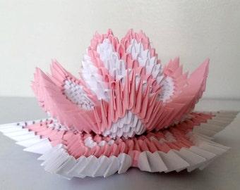 3d origami Lotus 2