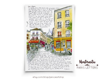 Montmartre: Paris Letters, September, A letter about the artists who have lived in this charming quarter of Paris