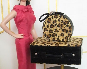 WILD THING - suitcase and train case for Barbie and similar size dolls