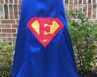 Superman Cape - Personalaized Letter