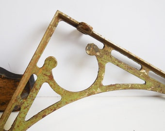 Vintage Cast Iron Horse Rein Check Holder Barn By