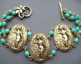 Fairy Bracelet - Fairy Jewelry - Faerie Jewelry - Woodland Pixie Jewelry - Fairytale Bracelet - Fairytale Jewelry - Victorian Jewelry