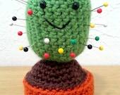 Green Cactus Pin Cushion