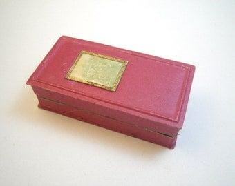 1920s Roger & Gallet Perfume Box - Fleurs d'Amour