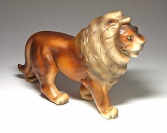 Vintage Ceramic Lion Made in Japan - circa 1950's