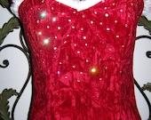 Green or Red Velvet Tinkerbell Fairy Fur trim  Swarovski Crystals Stones Lace up Custom Costume Women 2 4 6 8 10 12