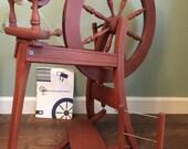 Ashford Traditional Spinning Wheel single treadle yarn wool handspun