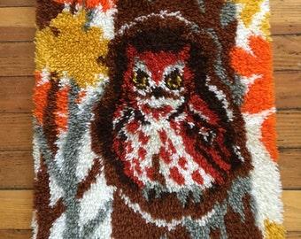 Nursery Owl Rug Etsy