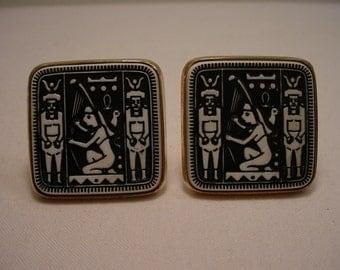 Vintage Egyptian Cufflinks  16 - 209
